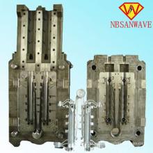 Aluminio a presión fundición radiador del molde