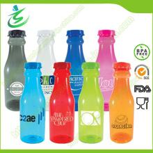 Garrafa de água de refrigerante personalizada 600ml, garrafas de Tritan