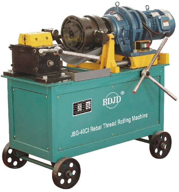 3 Phase Rebar Thread Rolling Machine