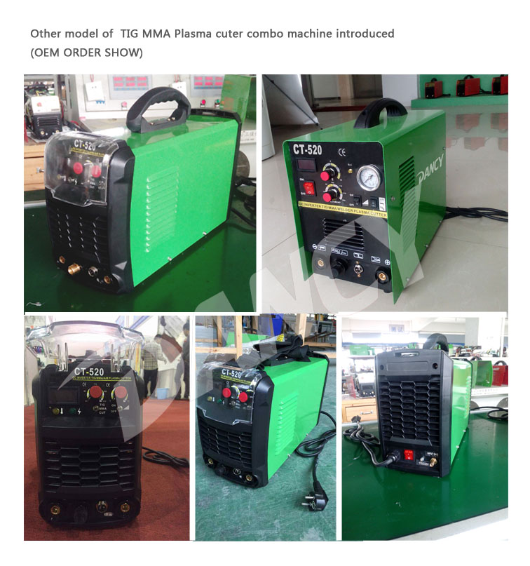 plasma cutter and welder combo china factory