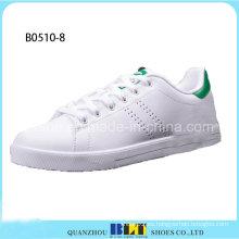 Zapatos de hombre de color blanco de moda