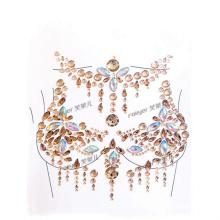 Nipple Within Temptation Flash Gem Sticker For Night Club Party Princess Glitter Jewels Chest Tattoo Sticker Vogue Crystal Paste