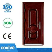 Diseños de puerta frontal de seguridad de venta caliente