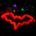 Sinais de néon personalizados Red Light Up Wall Decor