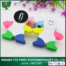 Cute Man Shape Bulk Kids Highlighter Pens