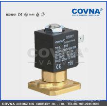 COVNA 5515-05 Válvula solenóide de latão de limpeza a vapor 9v