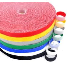 Bunte Magic Tape Nylon Haken Loop Rolls