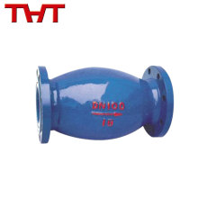 Precio de fábrica azul bola de retención de goma diseño de la válvula fabricantes