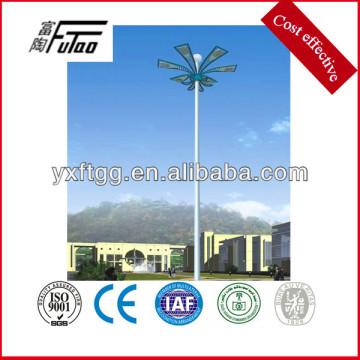 15-45meters galvanized high mast pole
