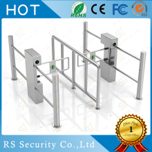 China supplier OEM for Stainless Steel Swing Barrier Automatic Turnstile Bi-directional Swing Barrier Gate supply to Italy Manufacturer
