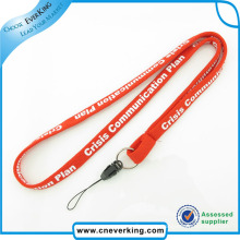 Effictive Custom Mobile Phone Logo Printed Tube Lanyard