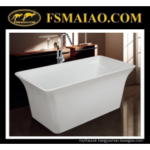 Fashion Design Seamless Acrylic Bathroom Bathtub (BA-8201C)
