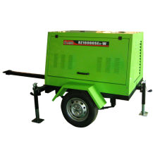 5KW 230A Démarrage électrique silencieux Portable Diesel Welding Generator