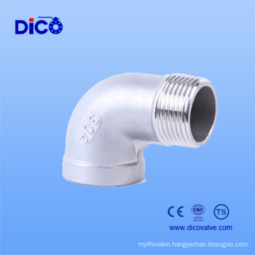 Casting Stainless Steel 90 Degree Street Elbow Dimensions