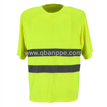 Ansi standard reflective fluorescent safety shirt