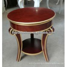 Nouveau design Petite table basse ronde C1046