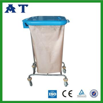 Hospital de resíduos bin com tampas