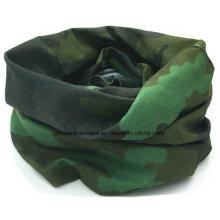 OEM Produce Exército Verde camuflagem impressa Sports Tubular Buff Headwear