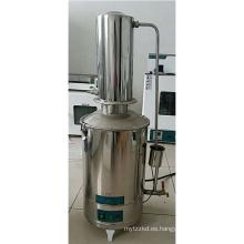 precio portátil del destilador de agua del acero inoxidable y de la autocontrol