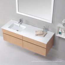 Italian Classical Wall-mounted Bathroom Vanity Base Cabinets