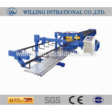 CE compuesto de acero laminado de piso rolling máquina formadora