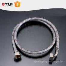 B17 stainless steel flexible braided hose flexible line teflon ptfe hose toilet hose