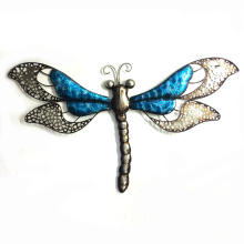 Metal Popular Pastel Dragonfly Wall Art Decoration
