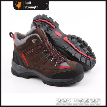 Industrial Leather Safety Shoes with Rubber Sole (SN5191)