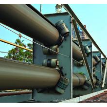 Ske Flame Resistant Pipe Rubber Conveyor Belt for Port