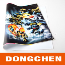 Fashion Soft PVC 3D Lenticular Printing for Bag/Toys
