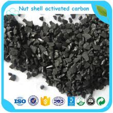 Filtre à air granulaire de charbon actif de coquille de noix de coco pour le sac de charbon actif