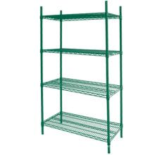 Multi-purpose kitchen wire shelving metal wire shelf chrome wire shelf rack