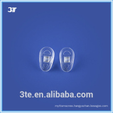 Silicone comfortable glasses nose pads