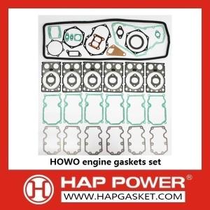 Guarnizioni del motore HOWO impostate