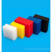 Feuille en plastique de polyéthylène HDPE