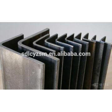 Acero profesional ángulo de hierro de 45 grados con precio barato