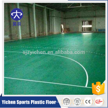 Piso de handebol interior PVC vinil piso piso de handebol potable mat tribunal