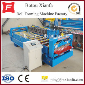 steel sheet roof wall panel machine