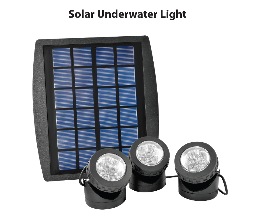 Solar Waterproof LED Light