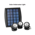 LED Solar 3 Light Underwater Fountain