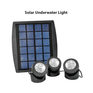 Multi color solar underwater light