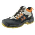 Les chaussures de sécurité d'injection d'unité centrale soulèvent des chaussures de sécurité de nom de marque pour des hommes