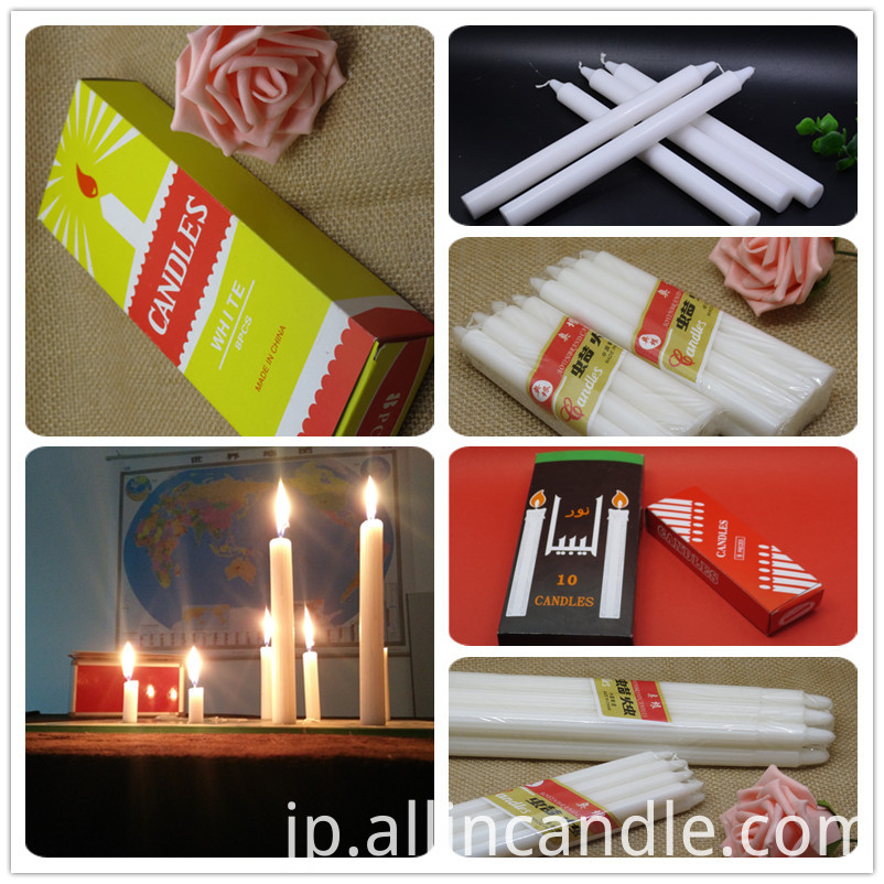 white stick candle