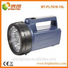Hochleistungs-4XD batteriebetriebene 15LED Plastik bewegliche geführte Laterne, Notfackellicht, schweres Licht
