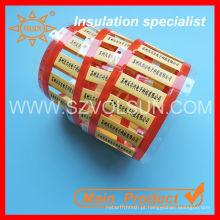 Fio de impressão e mangas de marcação de cabo