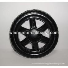 plastic wheel/plastic shopping cart wheel