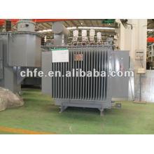 Transformador de aceite de la distribución de energía eléctrica