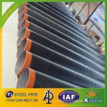 Tubo de aço API 5L SSAW com revestimento 3LPE para linha de gás e óleo