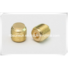 Copper DIN913 Set Screws with Flat Point