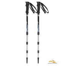 Aluminum 55-125CM Folding Alpenstocks Poles